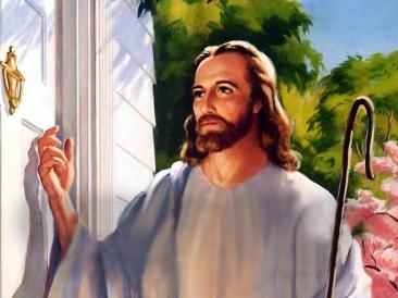 jesus knocking 2